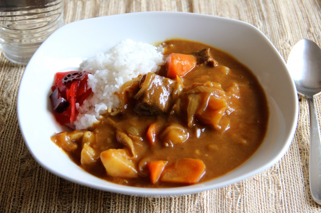 Easy japanese curry rice recipe