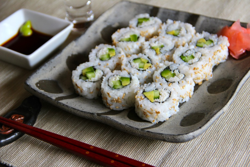 California Roll Recipe – Japanese Cooking 101