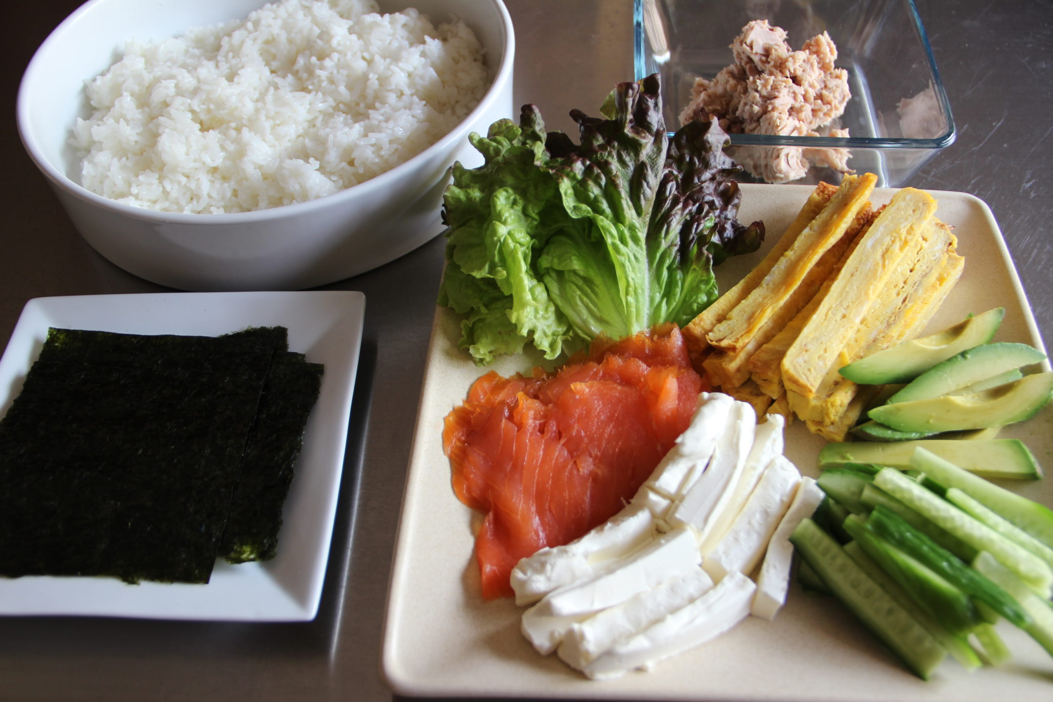 Pics for sushi ingredients recipe for Asian cuisine ingredients