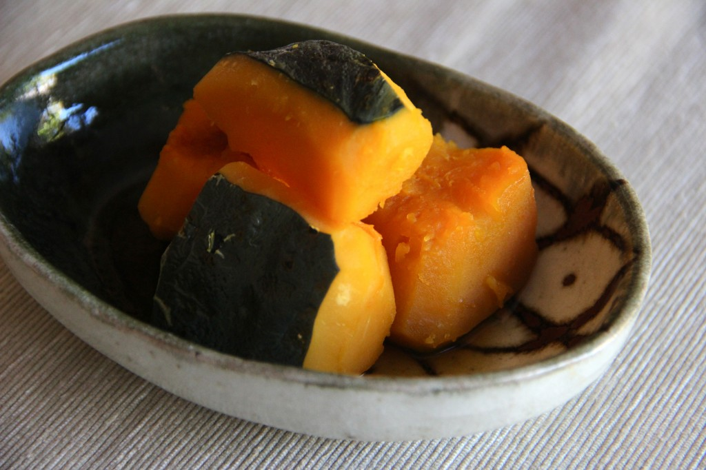 Kabocha no Nimono (Simmered Pumpkin) Recipe