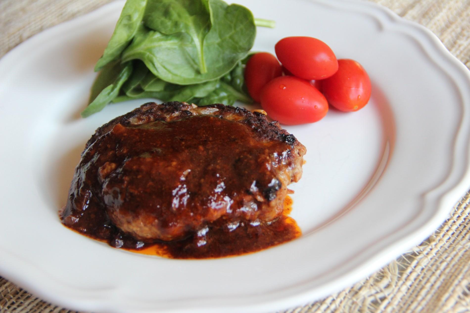 Hamburger steak recipe japanese cooking 101 hamburger steak forumfinder Gallery