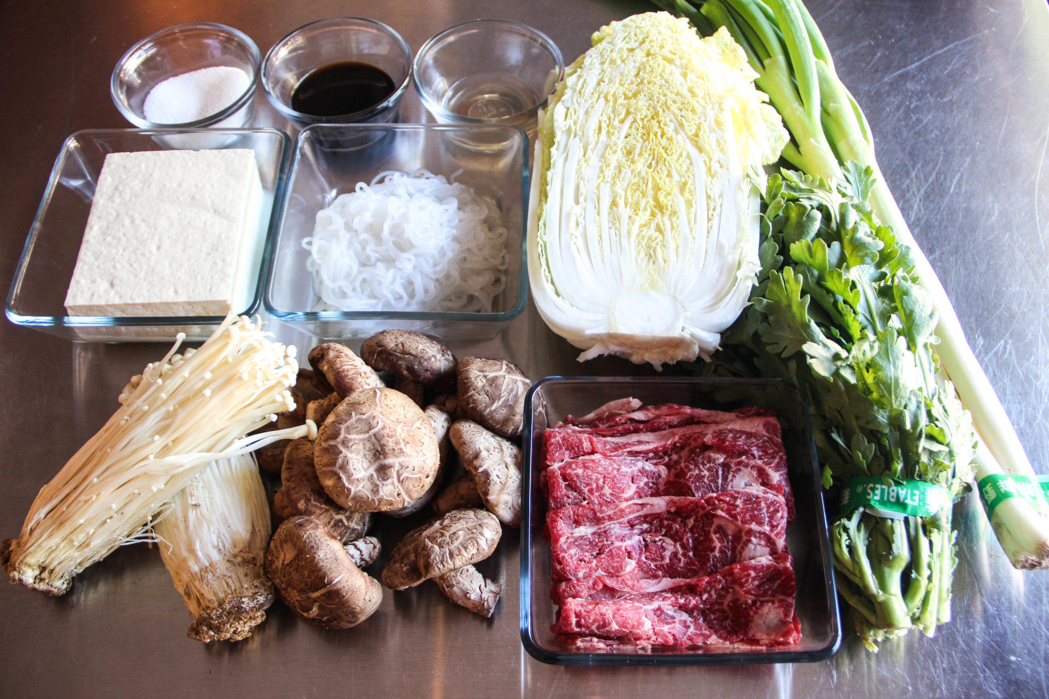 Sukiyaki Recipe – Japanese Cooking 101