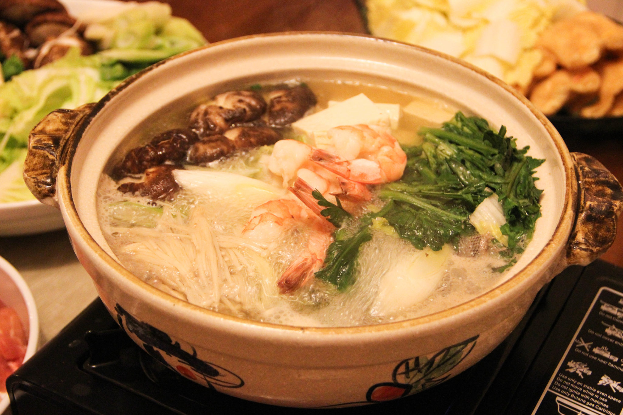 Mizutaki (Japanese hot pot)