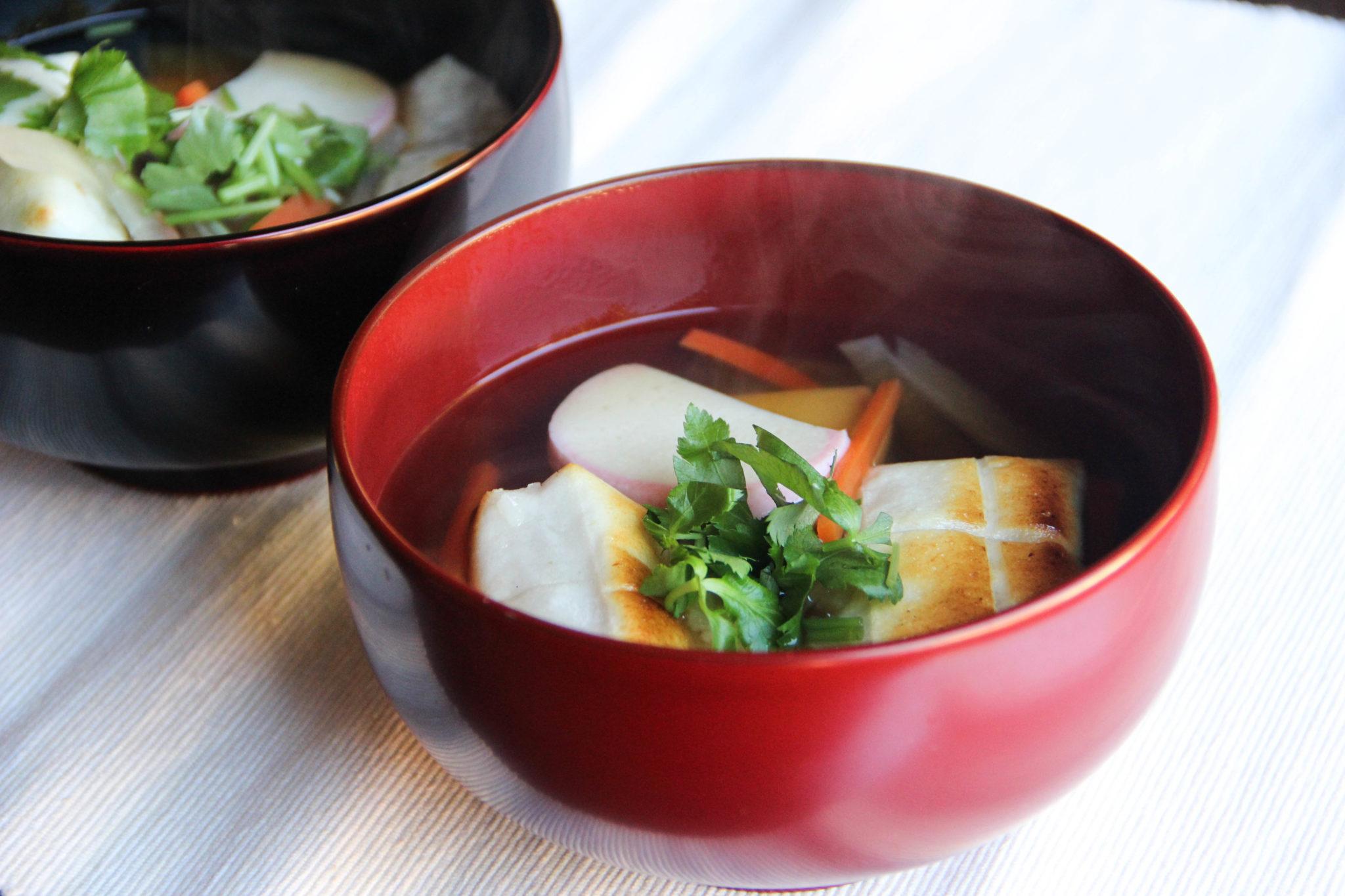 Clear Broth Ozouni Recipes — Dishmaps