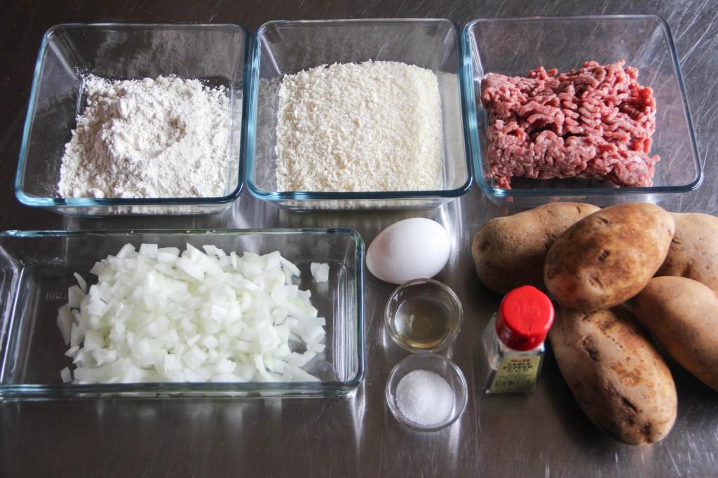Korokke Ingredients