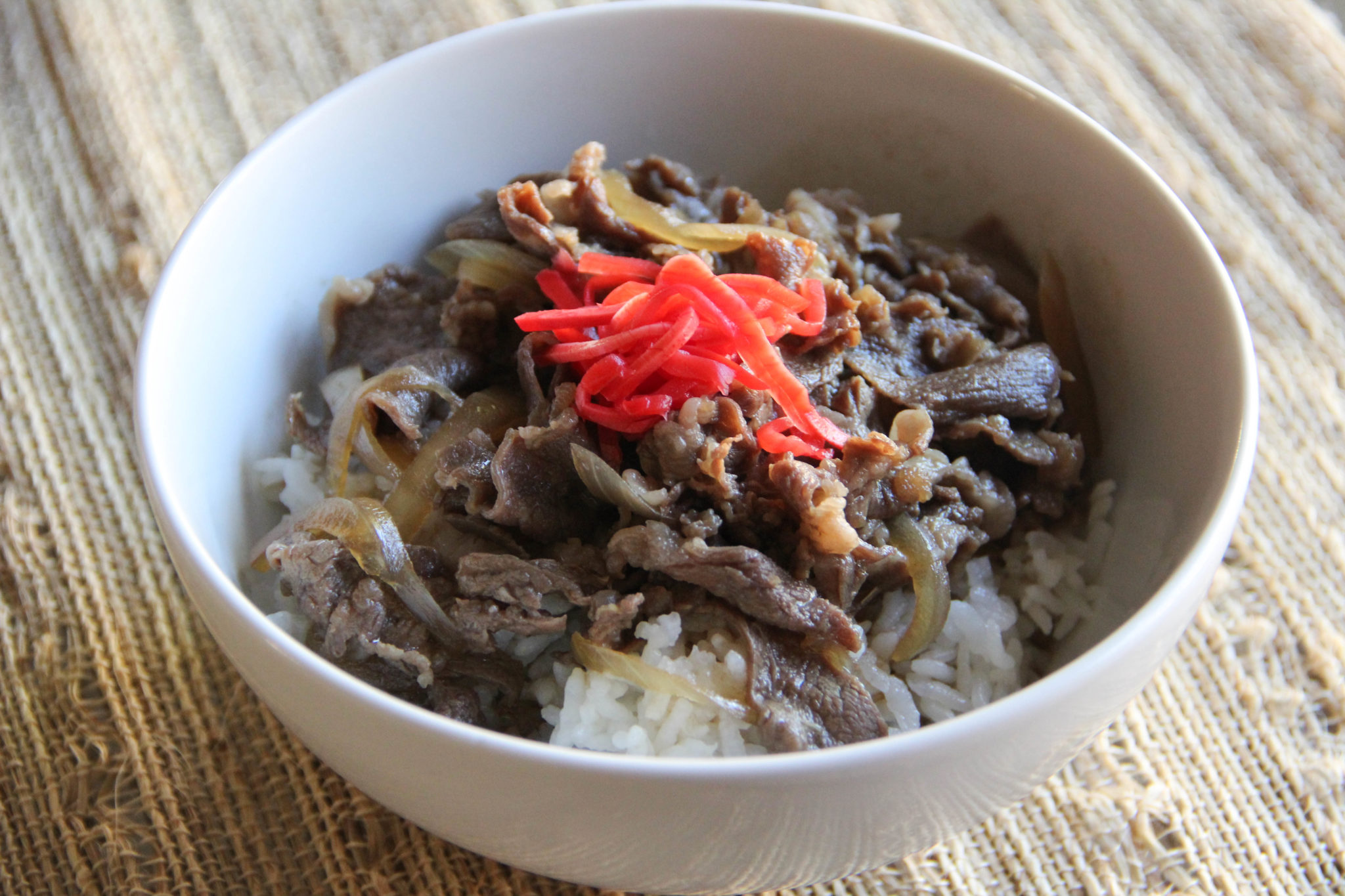 Gyudon is easy to cook in no time at all, so it is a perfect dinner ...