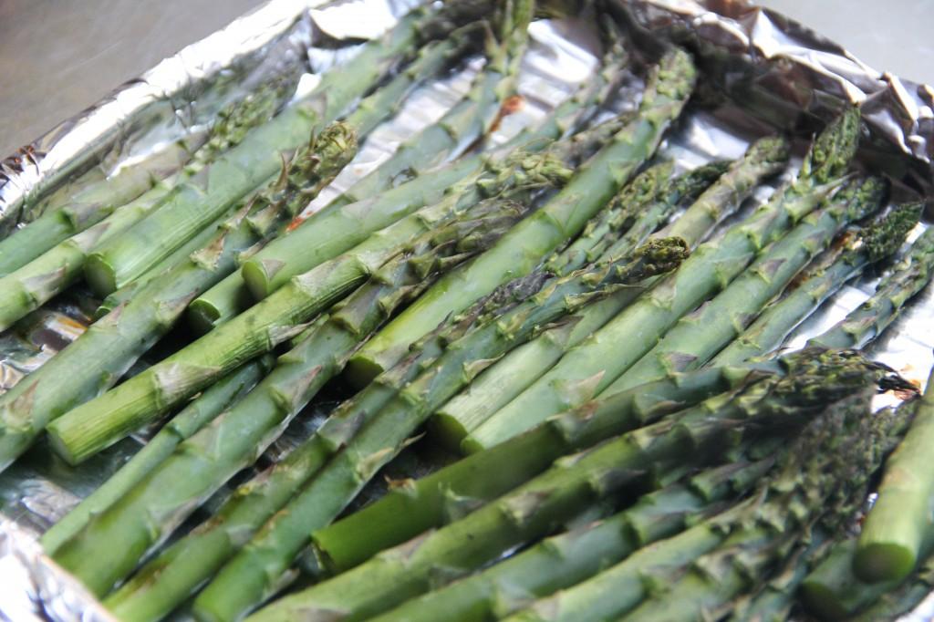 Roasted Asparagus Ohitashi Recipe