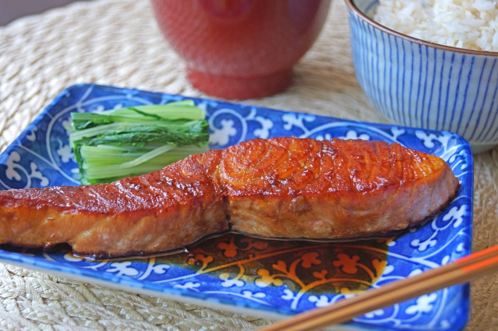 like chicken teriyaki salmon teriyaki uses sweet and salty teriyaki ...