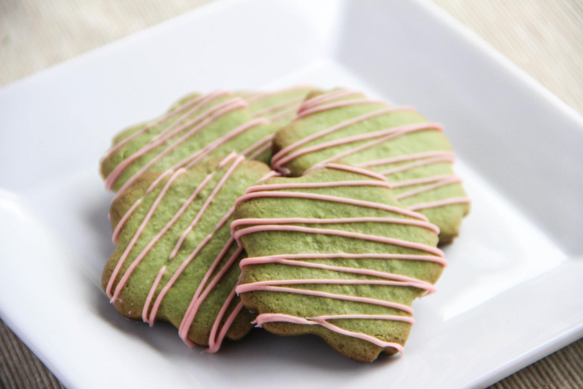 Green Tea Cookies Recipe