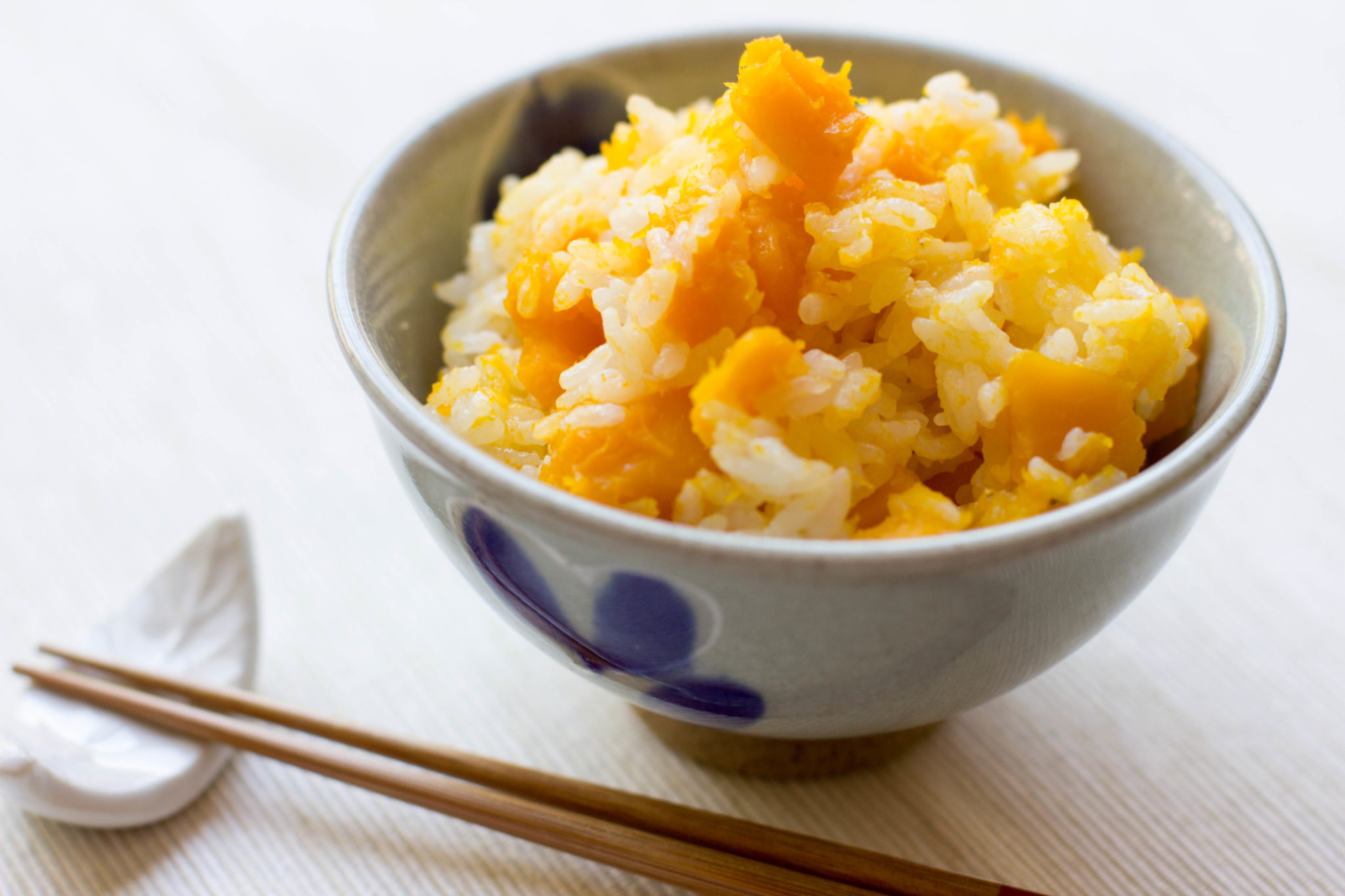 Kabocha Gohan (kabocha squash rice)