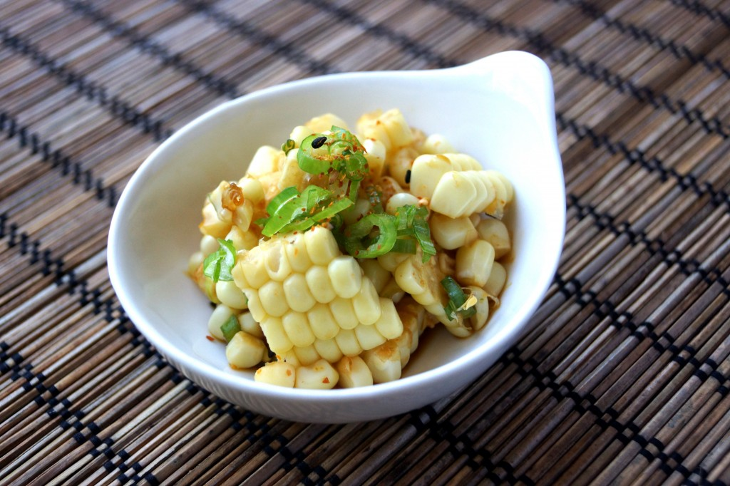 Corn Salad with Ponzu Sauce