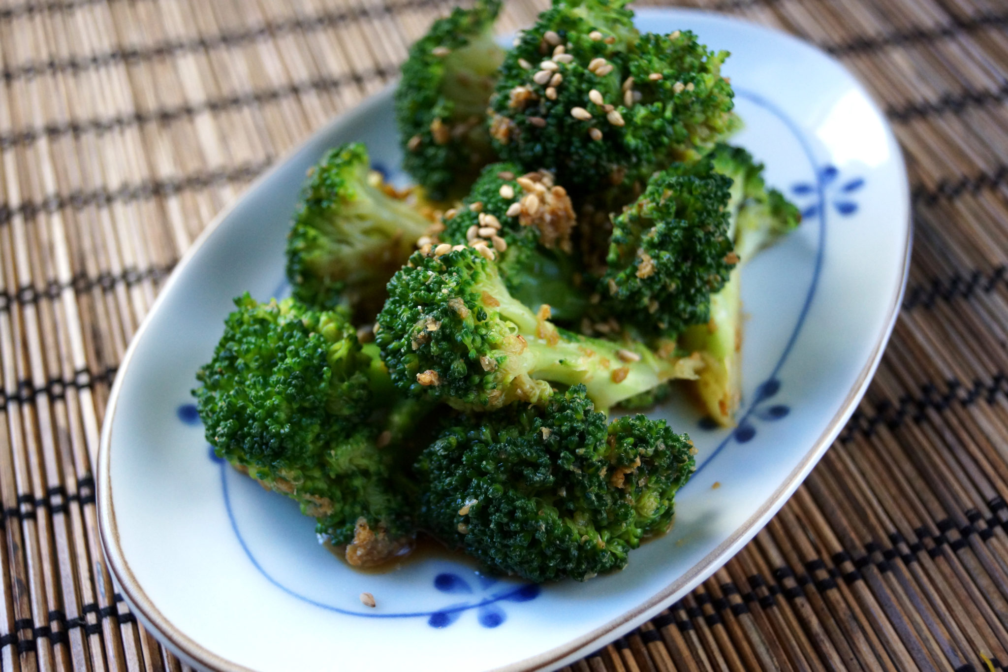Broccoli with Sesame Sauce