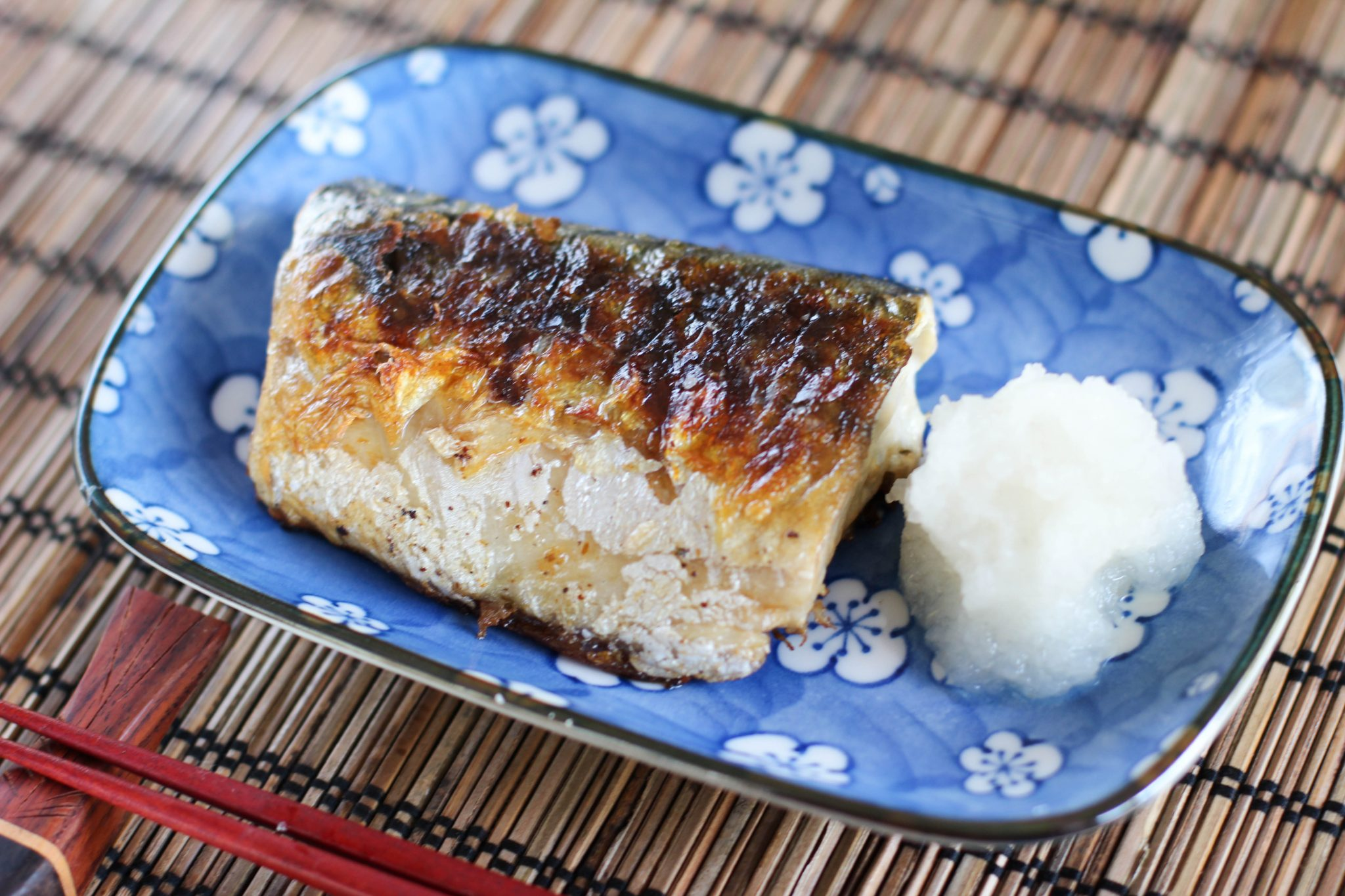 Saba Shioyaki (grilled mackerel) Recipe