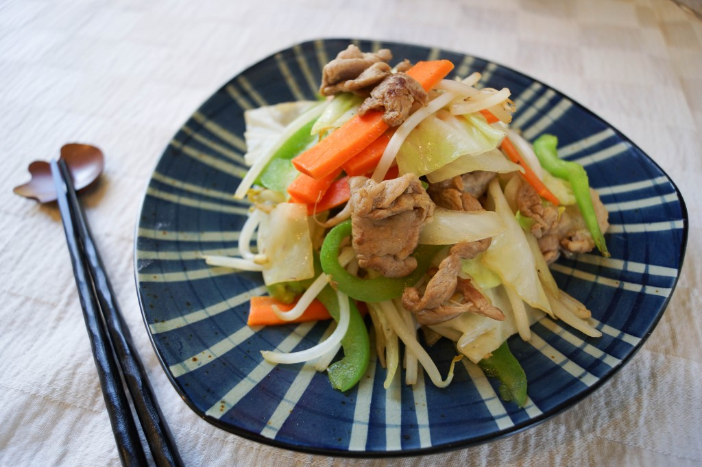 Yasai Itame (Stir Fry Vegetables) Recipe