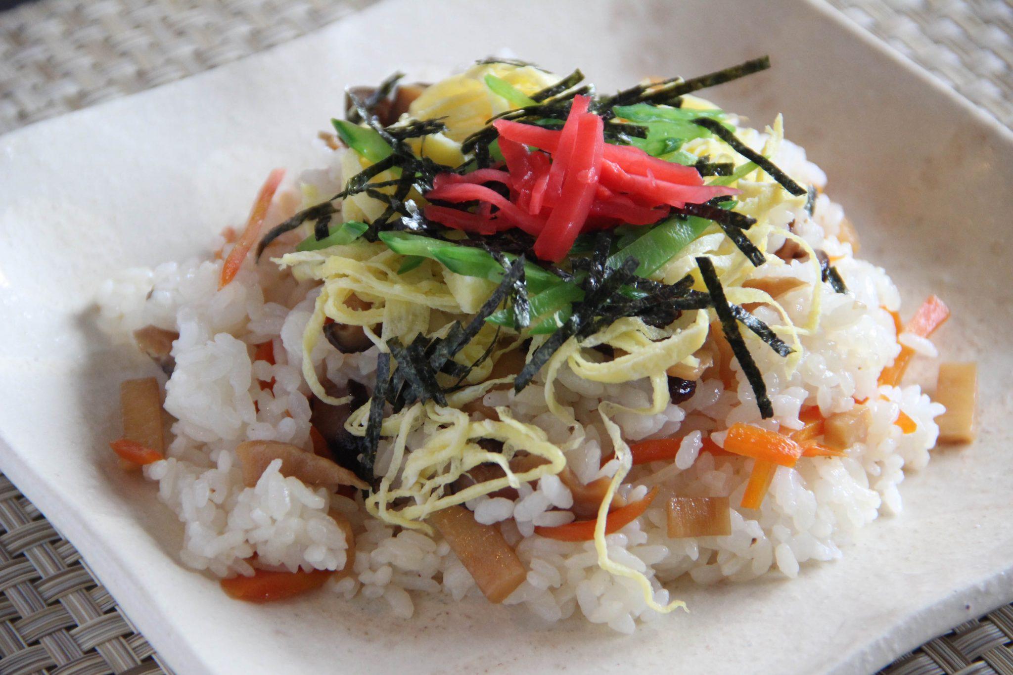 Barazushi Recipe