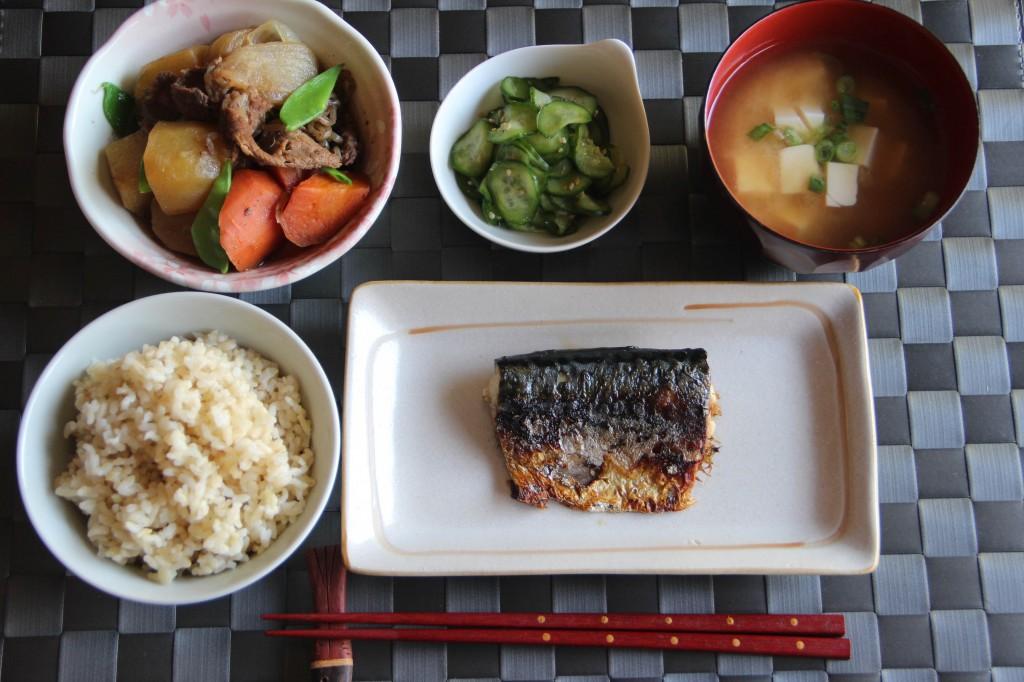 Japanese Dinner Menu 1