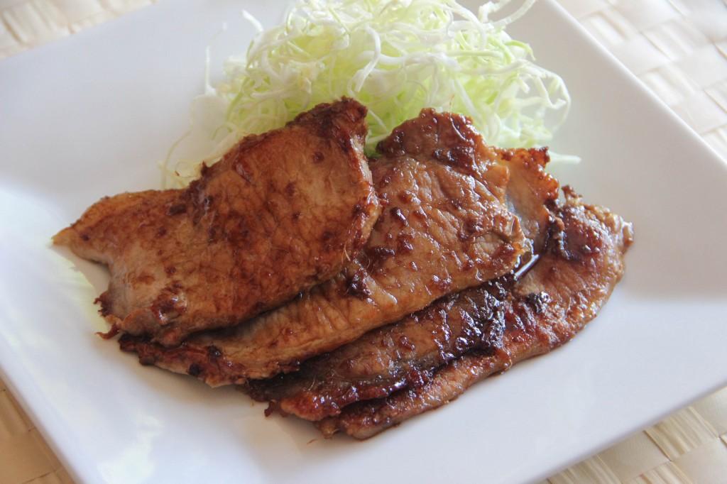 Pork Shogayaki Recipe