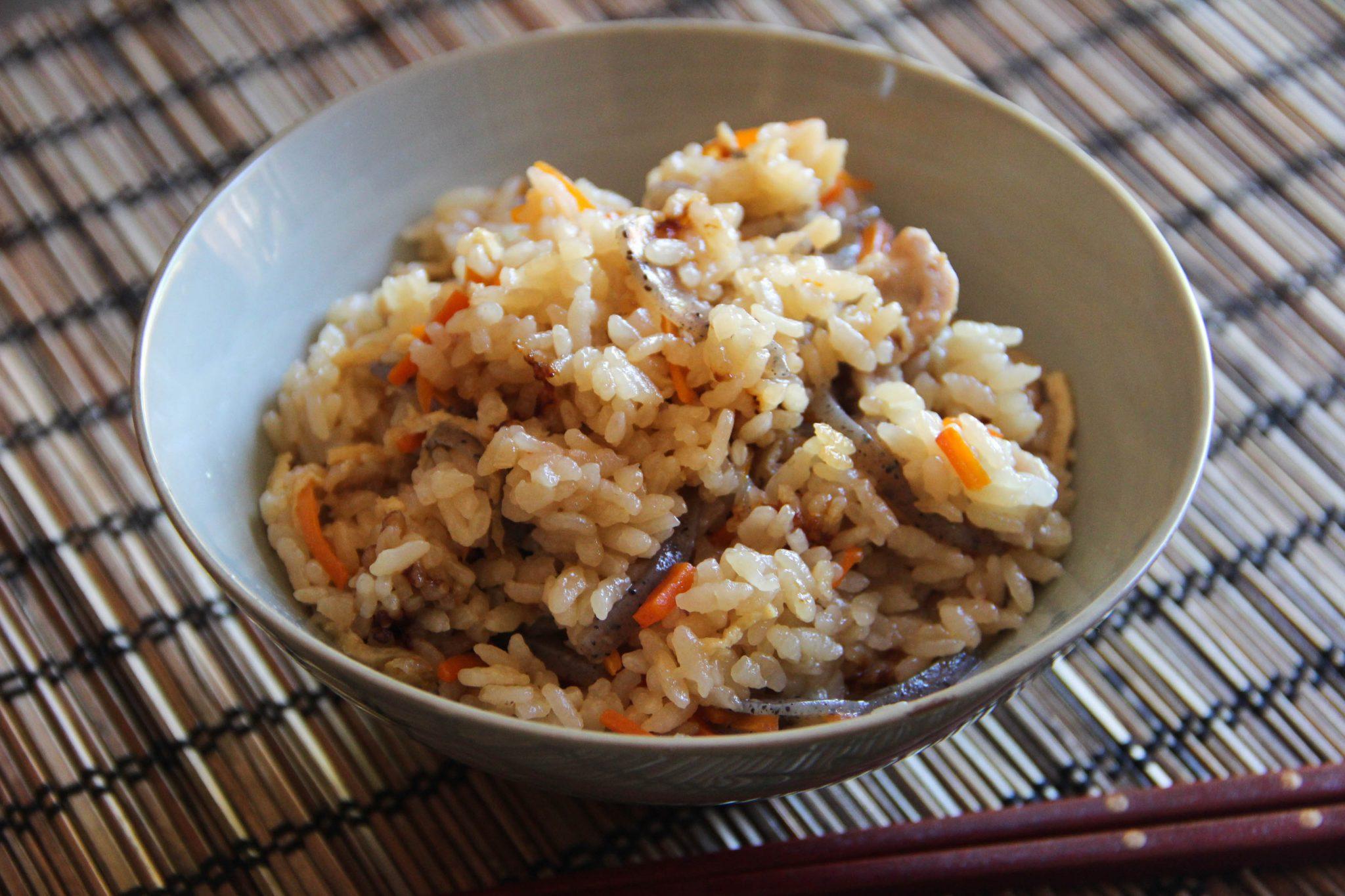 Takikomi Gohan Recipe