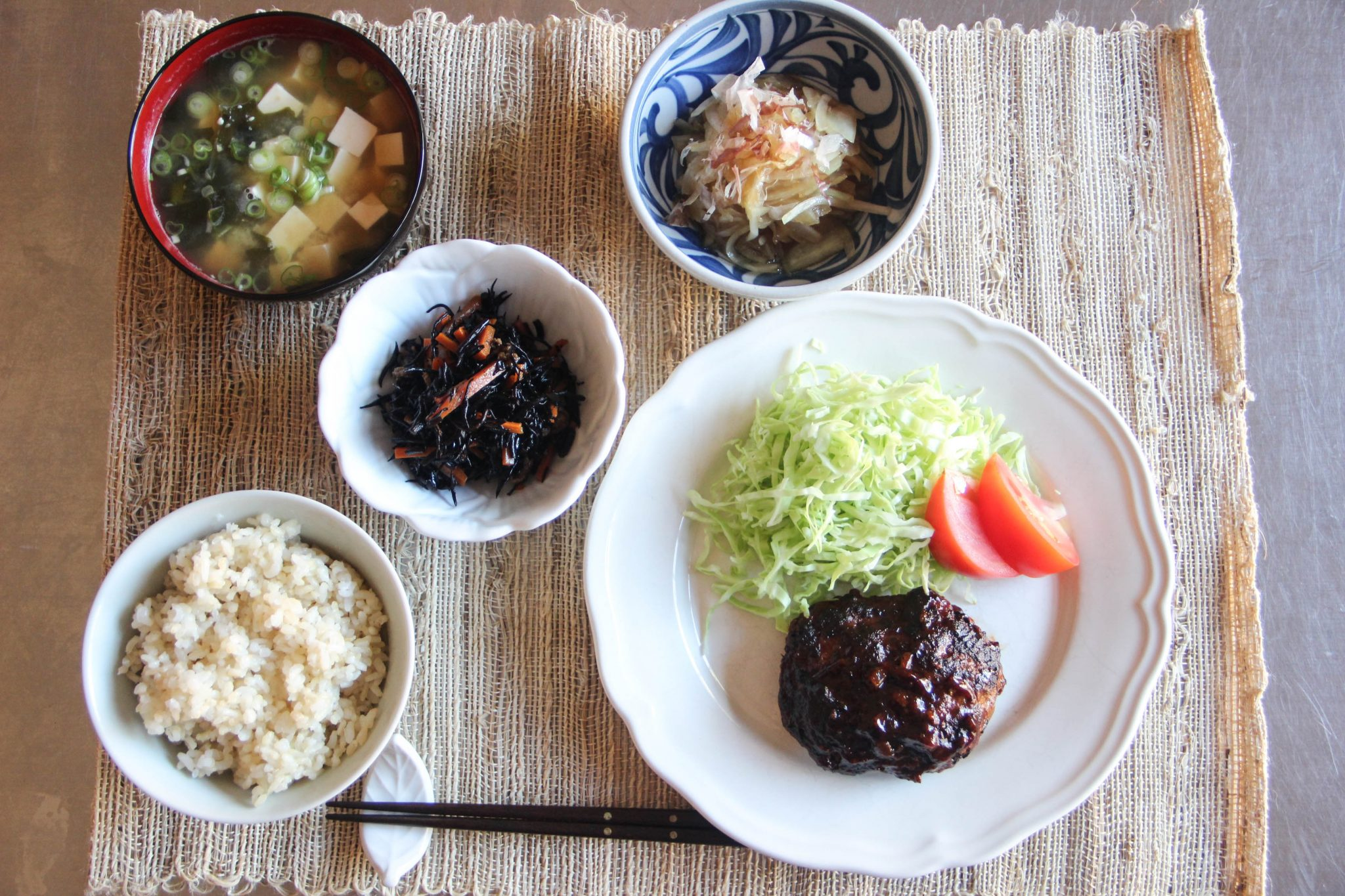 Japanese Dinner Menu 2