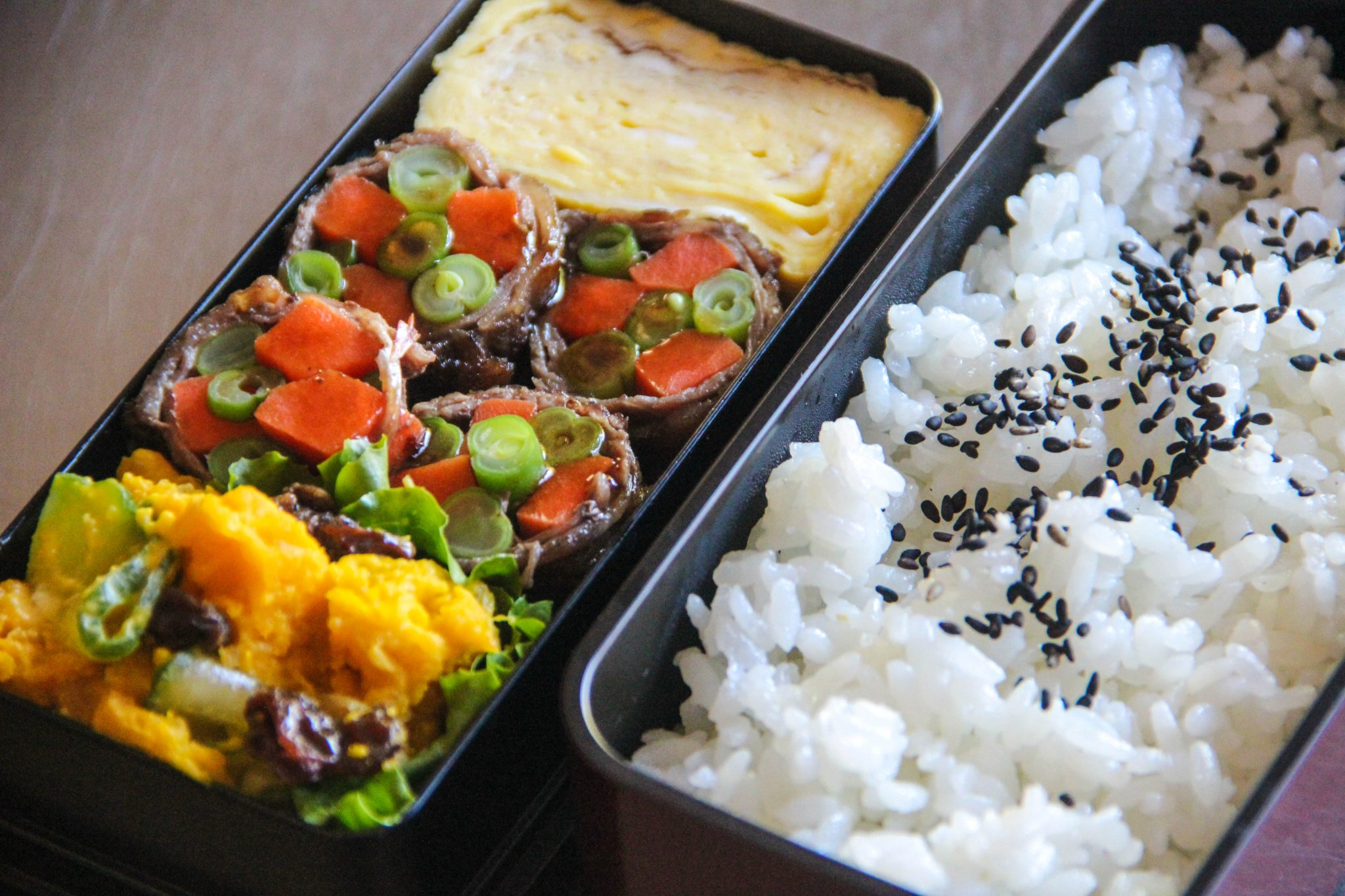 Bento Lunch Menu 3 – Japanese Cooking 101