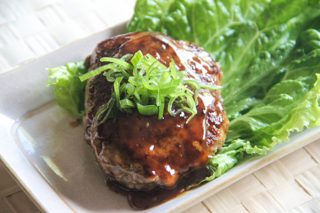 Tofu Hamburger Steak Recipe