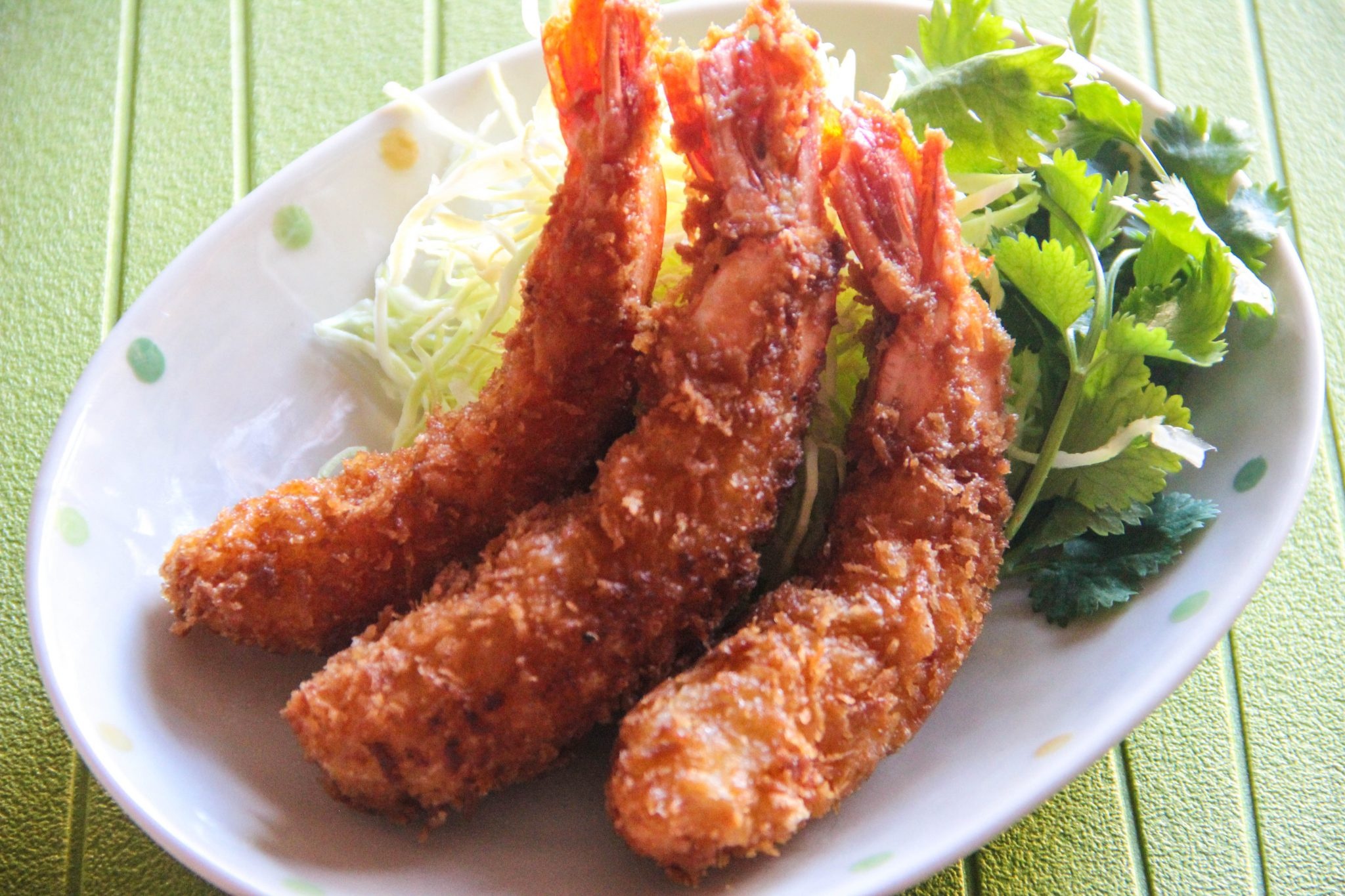 Ebi Fry (Deep fried shrimp)