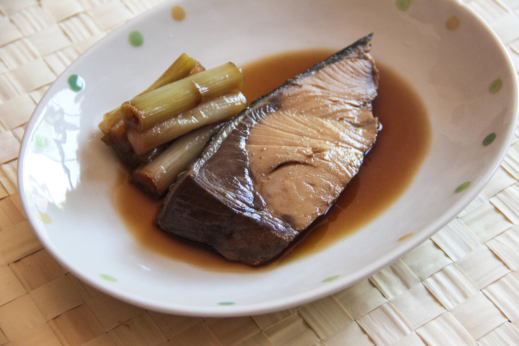 Buri Nitsuke Recipe