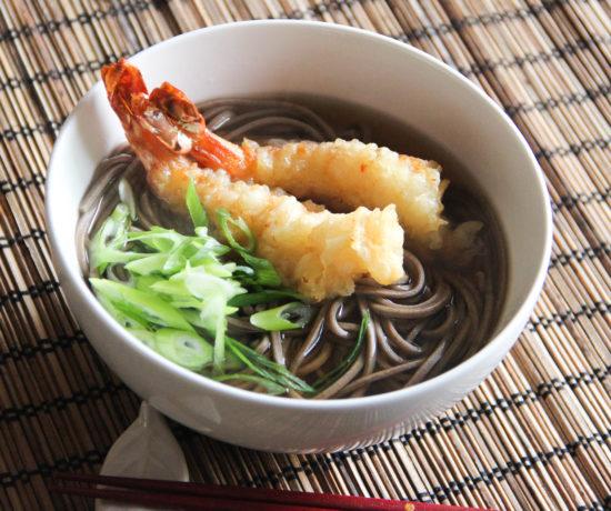 Shrimp Tempura Soba