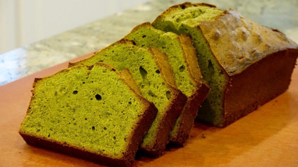 Matcha Pound Cake recipe