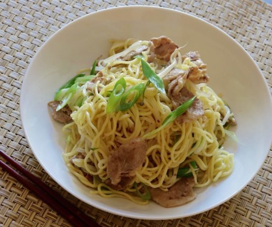 Shio Yakisoba Recipe