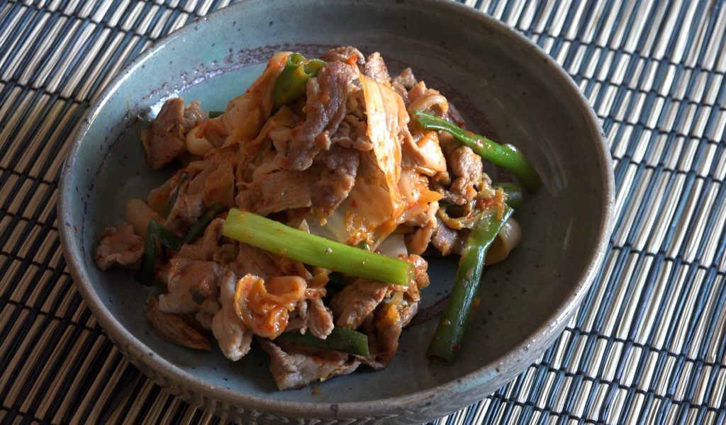 Pork and Kimchi Stir-fry