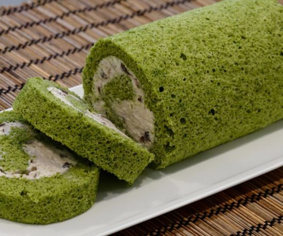 Matcha Roll Cake recipe