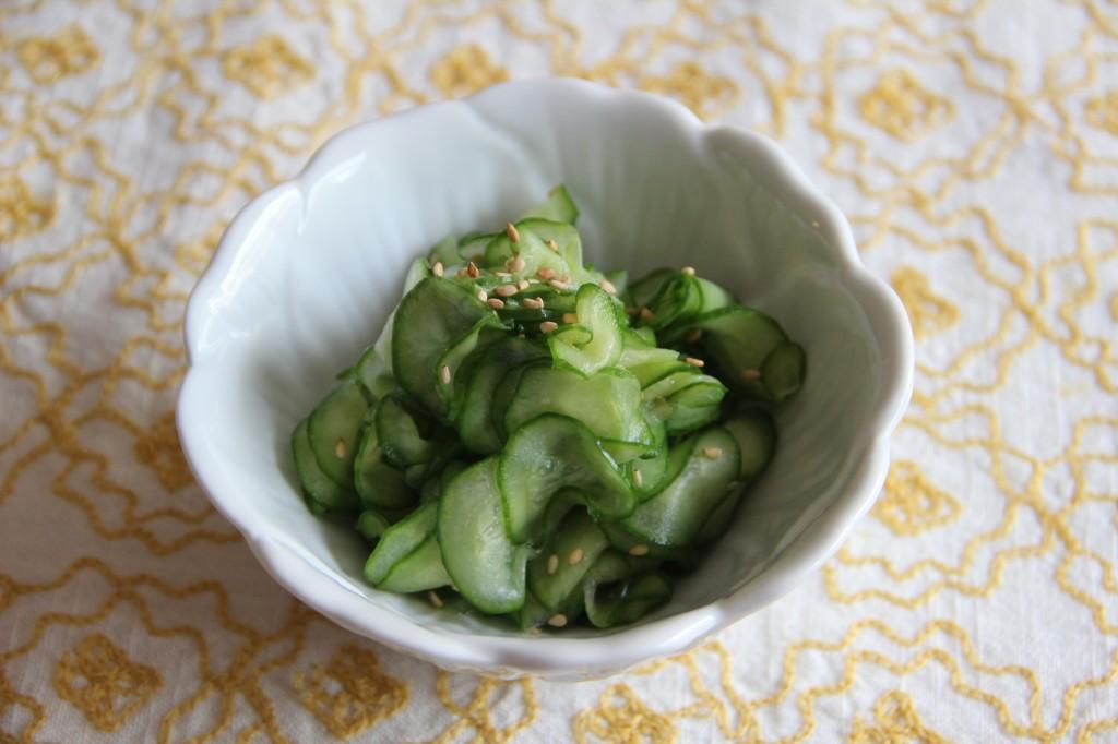 Sunomono (Cucumber Salad)