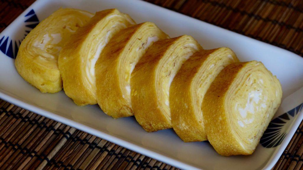 Tamagoyaki rolled omelette