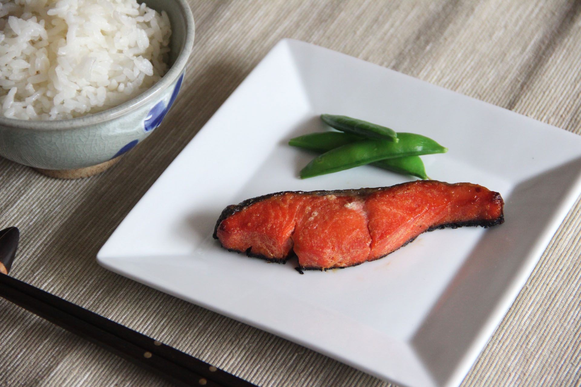 Miso Grilled Salmon