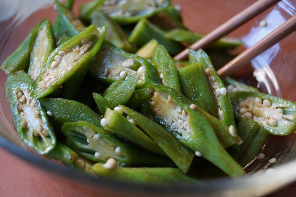 Okra Salad Recipe
