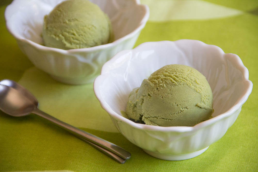 Green tea matcha ice cream recipe japanese cooking 101 for California iced tea recipe