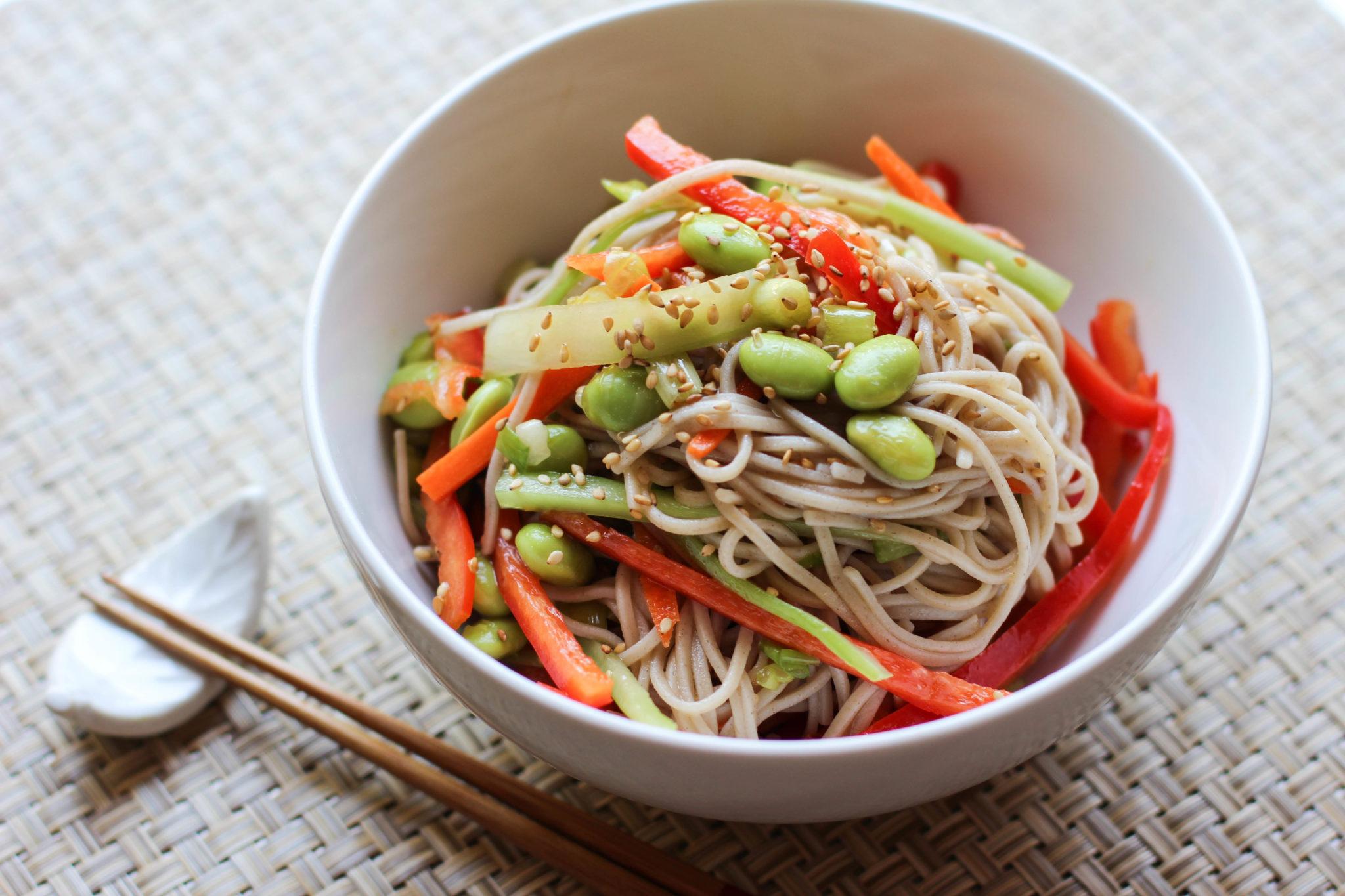 Ramen recipe japanese cooking 101 soba noodle salad recipe forumfinder Images