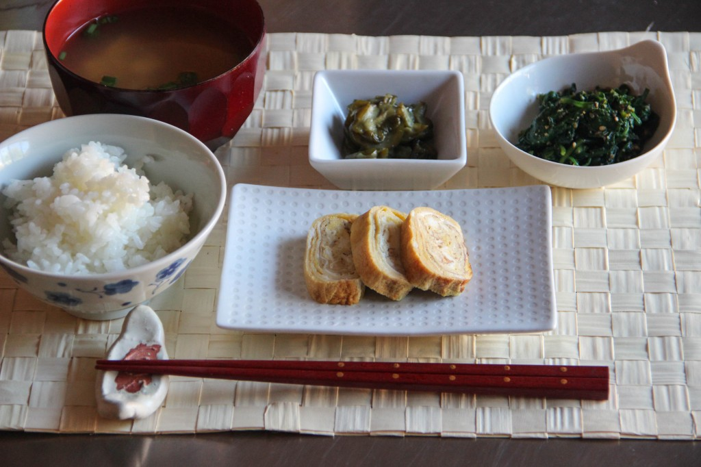 Japanese breakfast menu 1 japanese cooking 101 for Menu cinese tipico