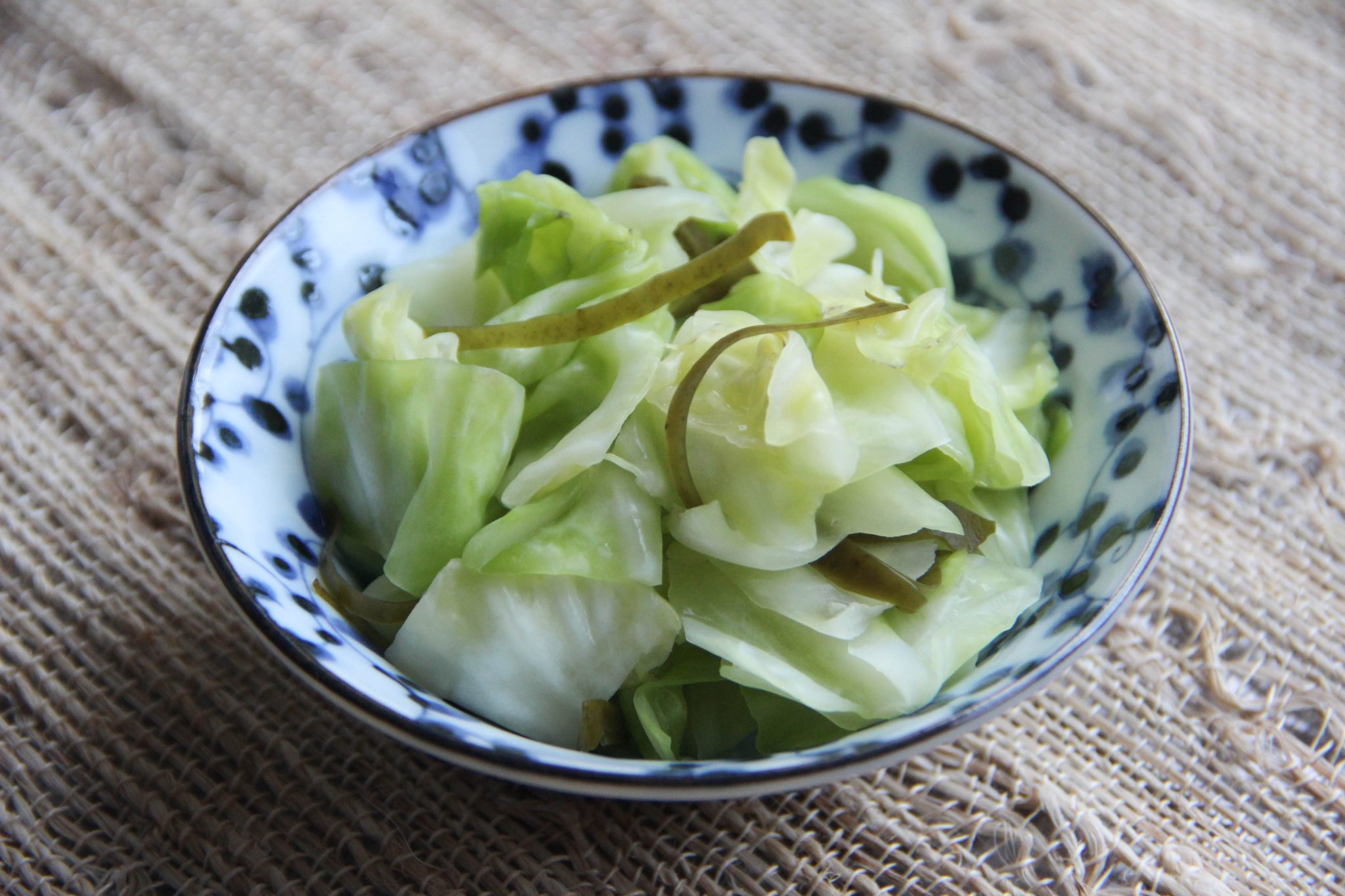 Tsukemono Salt Pickled Cabbage Recipe Japanese Cooking 101