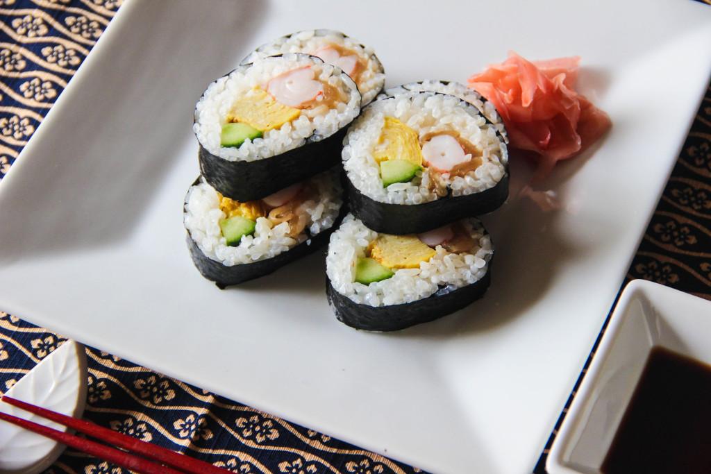 futomaki sushi recipe � japanese cooking 101