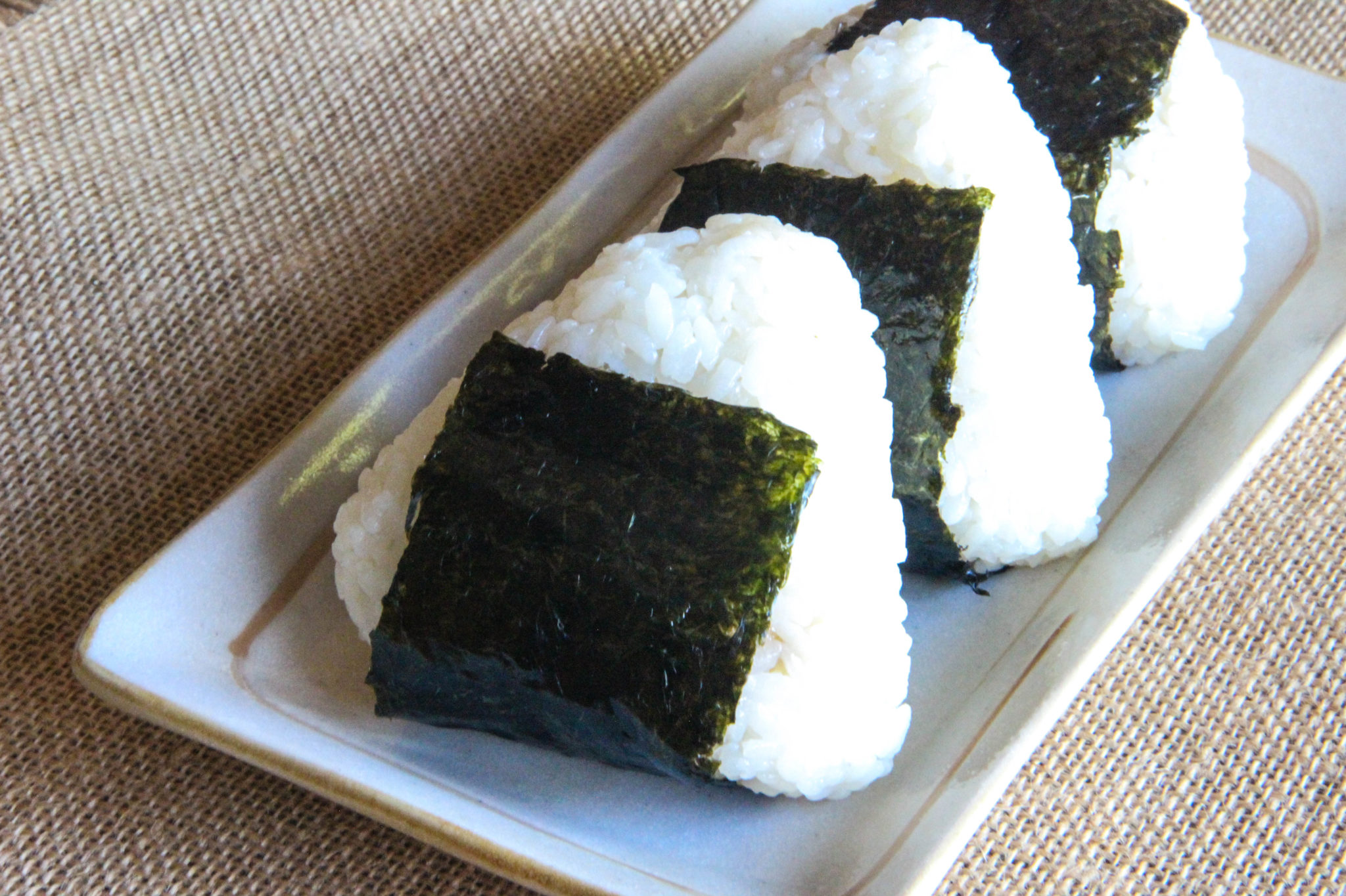 Assorted Onigiri Recipe Japanese Cooking 101