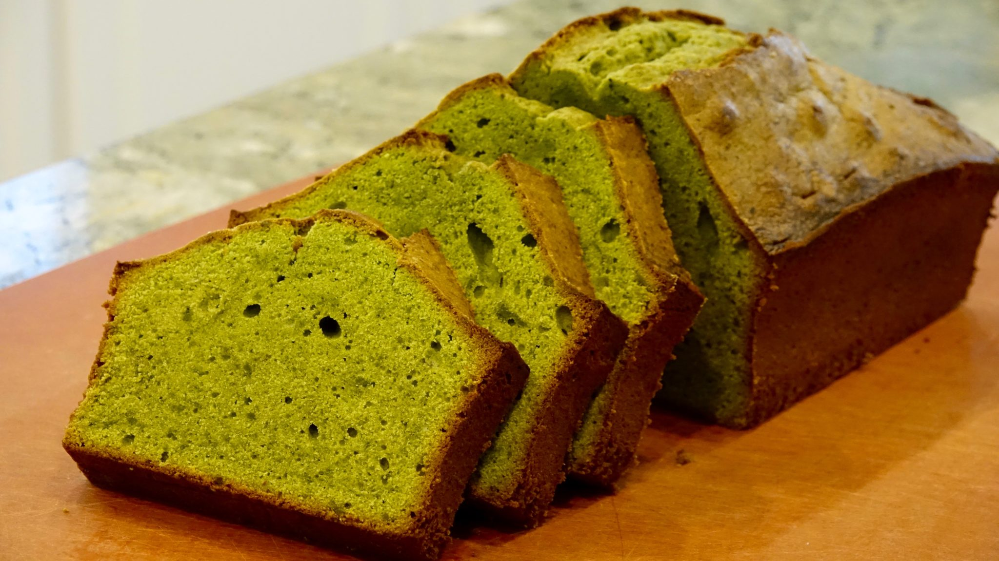 matcha pound cake recipe japanese cooking 101. Black Bedroom Furniture Sets. Home Design Ideas