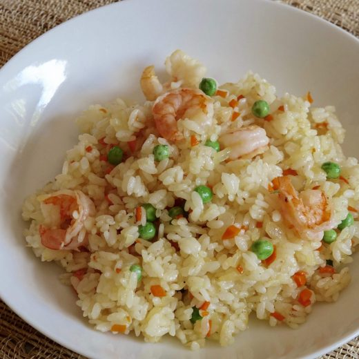 Shrimp Pilaf receipe