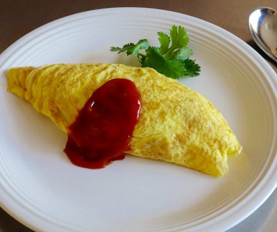 Cauliflower Omurice
