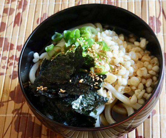 Hiyashi Tanuki Udon recipe