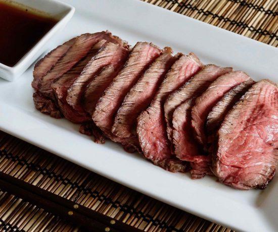 Pan-Fried Roast Beef