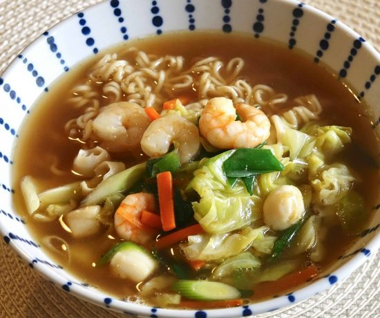 Instant Ramen with Vegetables