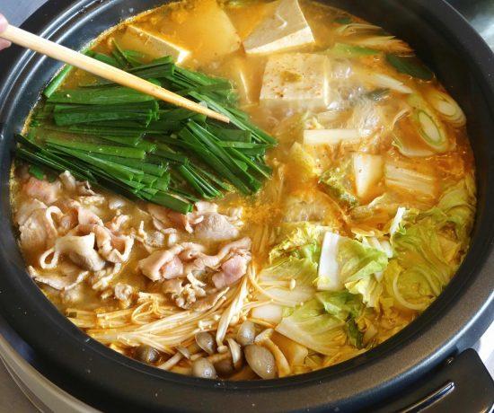 Kimchi Nabe (hot pot)
