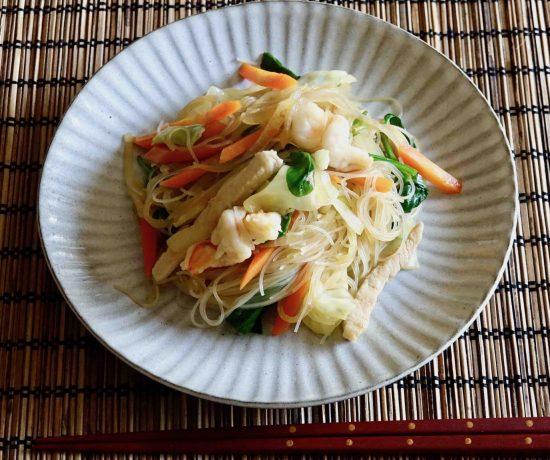 Bihun (fried rice vermicelli)